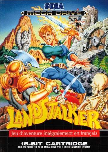 Ces jeux vidéo qui envoient du lourd  Landstalker